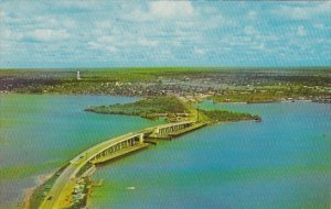 New Bridge Across Lemon Bay Englewood Beach Florida