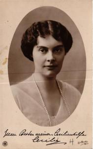 CPA AK Kronprinzessin Cecilie GERMAN ROYALTY (701414)