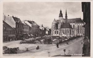 RP: Kosice. Hlavna ul. Slovakia , 1910-20s