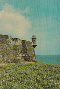 Puerto Rico San Juan Sentry Box In Old Fort El Morro