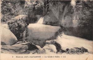 France Route de Luz a Gavarnie la Grotte a Gedre