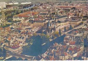 France Metz La Moselle et le Temple