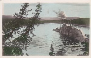 RP: Steamer WHITEHORSE in Thirty Mile River , Y.T., Canada , 20-40s