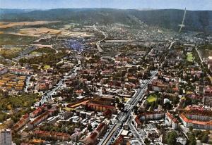Kassel Blick auf Wilhelmshoehe und Herkules Gesamtansicht