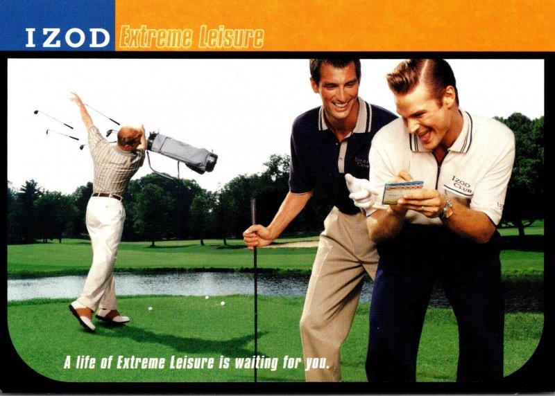 Advertising IZOD Extreme Leisure