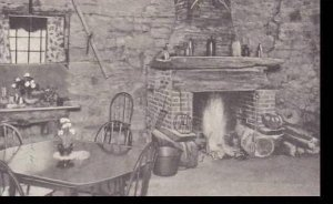 Vermont Wallingford Old Stone Shop Fireplace Albertype
