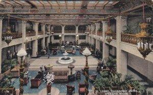 SPOKANE, Washington, PU-1915; Lobby, Davenport Hotel