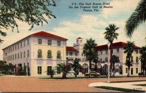 Florida Venice The Gulf Breeze Hotel Curteich