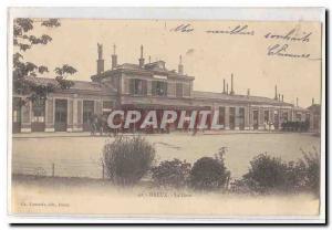 Dreux Postcard Old Train Station