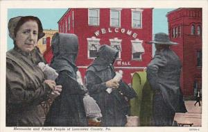 Mennonite and Amish People Of Lancaster County Pennsylvania Curteich