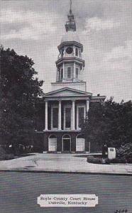 Kentucky Danville Boyle County Court House Dexter Press