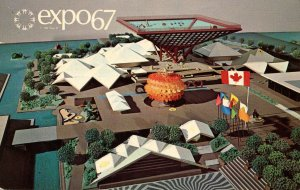Canada - Montreal. Expo67. Canadian Pavilion