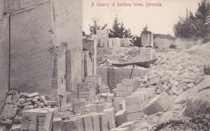 A Quarry of Building Stone , BERMUDA , 00-10s