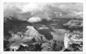 RPPC Grand Canyon, Arizona Clouds Real Photo ca 1930s Vintage Postcard