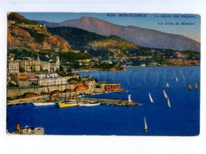 172381 MONACO MONTE-CARLO Lighthouse departure of Regates Old