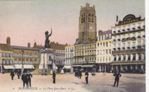 DUNKERQUE, Nord, France, 1900-1910´s; La Place Jean-Bart