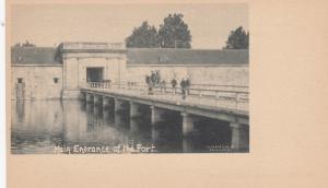 Main Entrance Bridge at Fort Eutas , Virginia , 1898