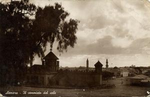 eritrea, ASMARA, Farewell to the Sun (1930s) RPPC Postcard
