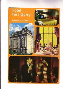Excellent Fourview, Including Night Club Act, Restaurant, Hotel Fort Gary, Wi...