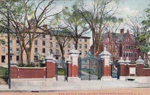 Rhode Island Providence Van Wickle Gate Brown University 1911