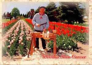 Michigan Holland Wooden Shoe Carver