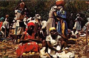 A Market Day Haiti Unused