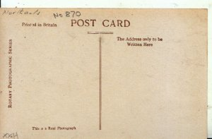 Northamptonshire Postcard - Northampton Statuary in Warkton Church RP  Ref 7857A
