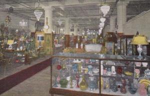 Illinois Chicago World's Antique Mart Interior