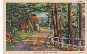 Michigan Greetings From Hart Curteich