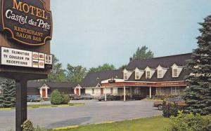 Motel Castel de Pres , TROIS-RIVIERES , Quebec , Canada , 50-60s