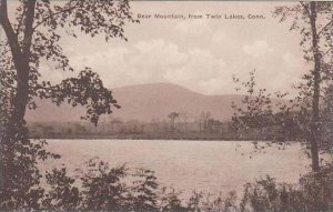 Connecticut Canaan Bear Mountain From Twin Lake Albertype