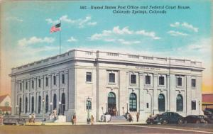 Exterior,United States Post Office and Federal Court House,Colorado Springs,C...