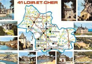 France Loir-et-Cher Chaumont-sur-Loire, Map Talcy, Blois, Map, Multiviews