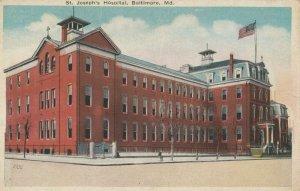 BALTIMORE, Maryland, 1900-1910s ; St Joseph's Hospital