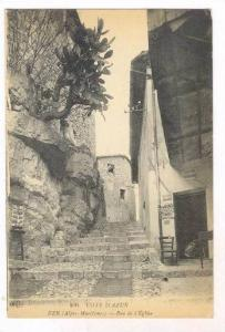 Eze , Alpes-Maritimes department , France. 00-10s , Rue de l'Eglise