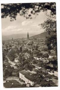 RP, Bird's Eye View Of Freiburg im Breisgau (Baden-Wurttemberg), Germany, 192...