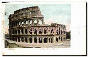 Postcard Old Anfiteatro Flavio Colosseo Roma