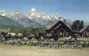 Worshiping - Grand Tetons, Wyoming