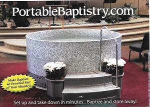 US #4733 Coil - Golden Delicious Apple.  Portable Baptistry