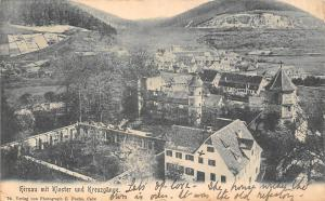 Hirsau mit Kloster und Kreuzgaenge Abbey General view