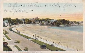 Massachusetts Swampscott The Boulevard And Beach
