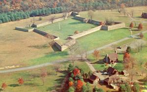 MD - Fort Frederick. Aerial View