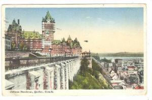 Chateau Frontenac,  Quebec,  Canada, PU-1936