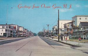 OCEAN GROVE , New Jersey , 50-60s ; Main Avenue