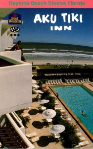 Florida Daytona Beach Shores Aku Tiki Inn