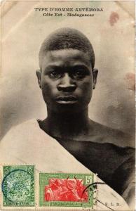 CPA Type d'Homme Antémora. MADAGASCAR (626170)