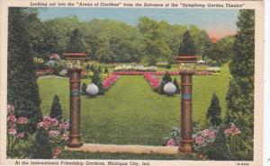 Indiana Michigan City Arena Of Gardens At International Friendship Gardens Cu...