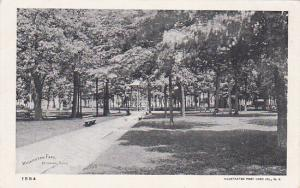 BRIDGEPORT , Connecticut , 1901-07 ; Washington Park