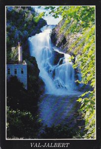 Canada Chute Ouiatchouan Val-Jalbert Lac St-Jean Quebec