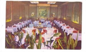 Champs-Elysees Restaurant Interior. Montreal, Quebec, Canada 40-50s